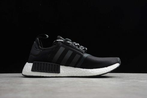 Adidas NMD R1 Logo Cloud White Core Black Running Shoes F99177