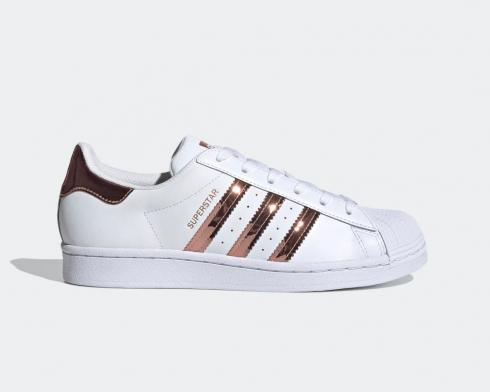 Adidas Originals Superstar Schuh Cloud Wite Silver Metallic FX4271