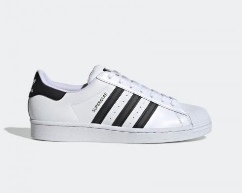 Adidas Superstar White Black Casual Shoes EG4958