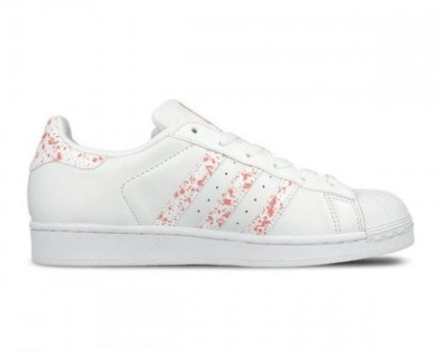 Adidas Wmns Originals Superstar White Tactile Rose Pink BY2951