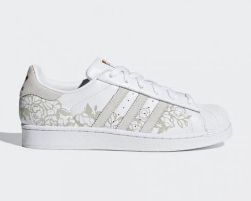 Adidas Wmns Superstar Copper Met Footwear White CG6002