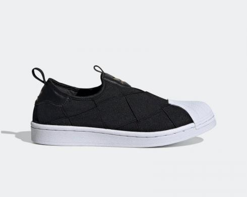 Adidas Wmns Superstar Slip-On Core Black Cloud White FV3187