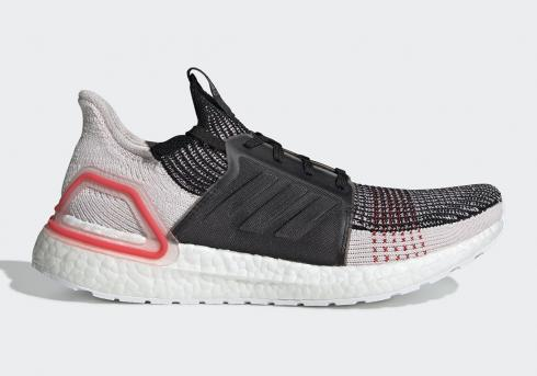 Adidas UltraBoost 2019 Core Black Orchid Tint Active Red F35238