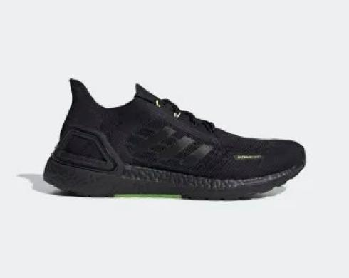 Adidas Ultra Boost S.RDY Core Black Green Running Shoes FY3471
