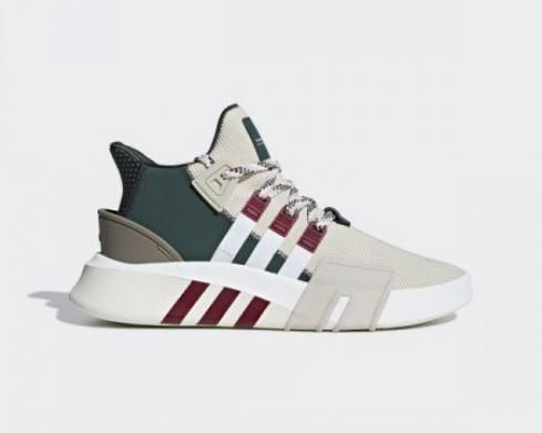 Adidas EQT Bask ADV Clear Brown Cloud White Collegiate Burgundy F33854
