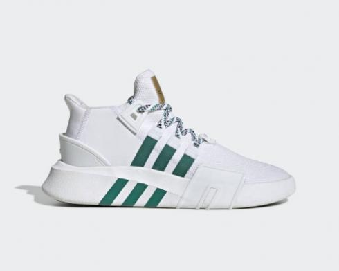 Adidas EQT Bask ADV Footwear White Sub Green Gold Metallic EE5023