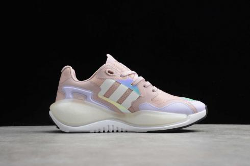 Adidas Originals ZX Pink Black Wite Shoes FV5384