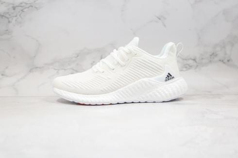 Adidas AlphaBounce Boost Cloud White Core Black Orange Shoes EF1284