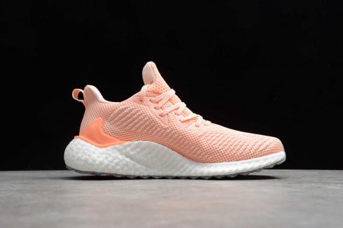 Adidas Alphabounce Boost 21 Cloud White Orange Pink G97284