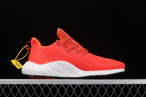 Adidas Alphabounce Boost W White Red Shoes EF9043
