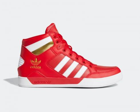 Adidas Hard Court High Red Cloud White Gold Metallic FV5328