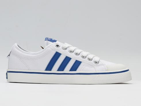 Adidas Nizza Low Off White Blue Vintage White Shoes BZ0489