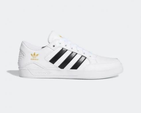 Adidas Originals Hardcourt Low Cloud White Core Black Gold FX0520