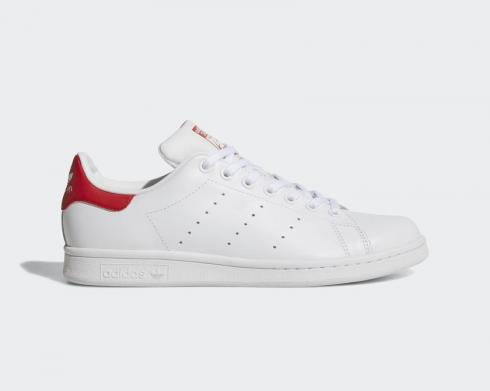 Adidas Originals Stan Smith Cloud White Collegiate Red M20326