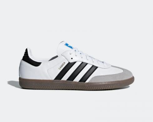 Adidas Samba OG White Black Gum Clear Granite B75806