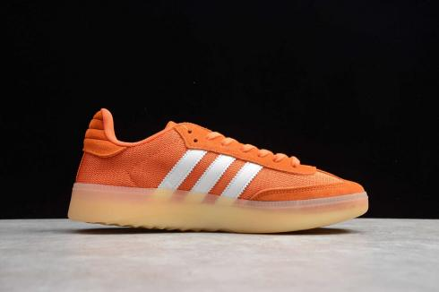 Adidas Samba RM Simple Orange Gum Cloud White Shoes EE5509