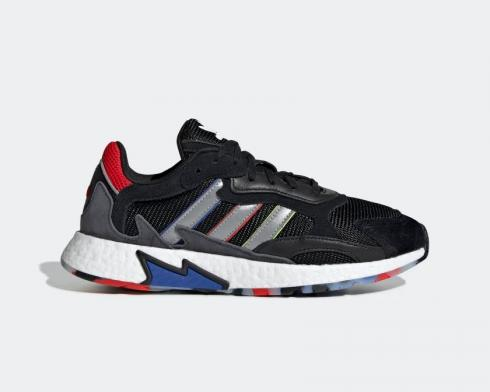 Adidas Tresc Run Black Silver Metallic Cloud White EF0797