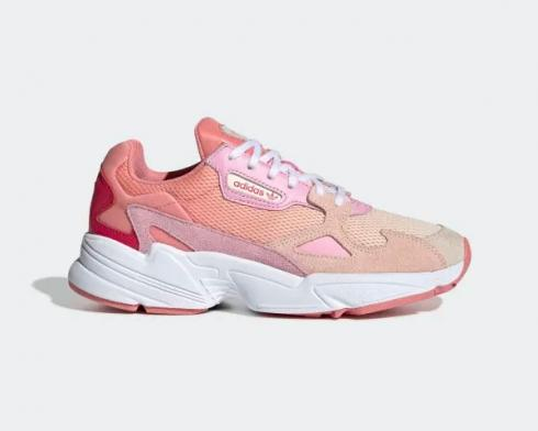 Adidas Wmns Falcon True Pink Ecru Tint Cloud White EF1964