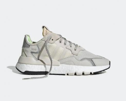 Adidas Wmns Nite Jogger 3M Raw White Light Tan Shoes EE5917