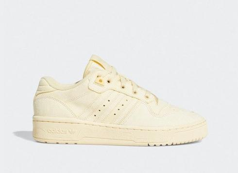 Wmns Adidas Rivalry Low Easy Yellow Cloud White Sneaker EE7067