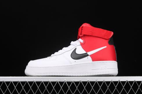Nike Air Force 1 High 07 White Red Basketball Shoes BQ4591-103