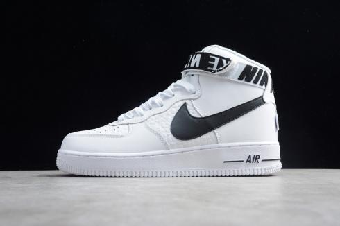 Nike Air Force 1 High White Black Sneakers Shoes Best Price 315131-103
