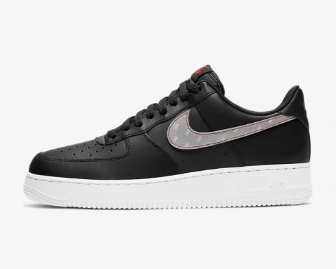 3M x Nike Air Force 1 07 Anthracite Silver University Red White CT2296-001
