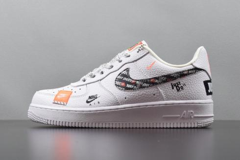 Nike Air Force 1'07 Premium Just Do It White AR7719-100
