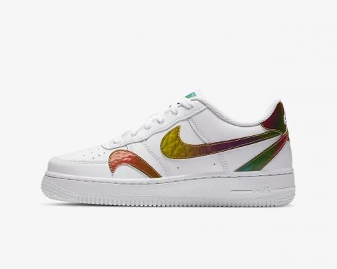 Nike Air Force 1 LV8 2 GS White Multi Shoes CZ5890-100