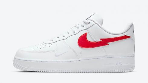 Nike Air Force 1 LV8 Euro Tour White University Red CW7577-100