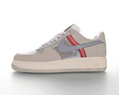 Nike Air Force 1 Low Beige Grey Mens Casual Shoes AN3355-061