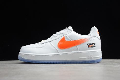 Nike Air Force 1 Low Kith Knicks Away Running Shoes CZ7928-100