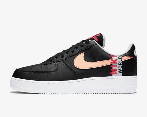 Nike Air Force 1 Low Worldwide Pack Black Crimson White CK6924-001