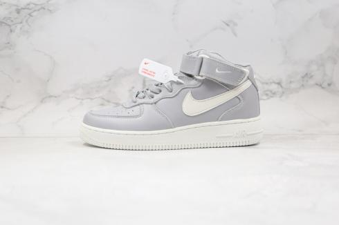 Nike Air Force 1 Mid Wolf Grey White 315123-033