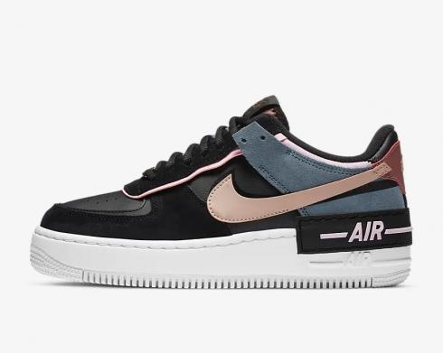 Nike Wmns Air Force 1 Shadow Black Light Arctic Pink CU5315-001
