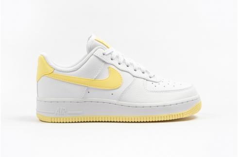 Nike Womens Air Force 1 07 Bicycle Yellow White AH0287-106