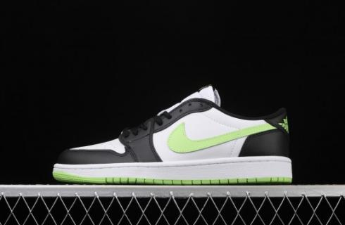 Air Jordan 1 Retro Low White Ghost Green Black CZ0790-103