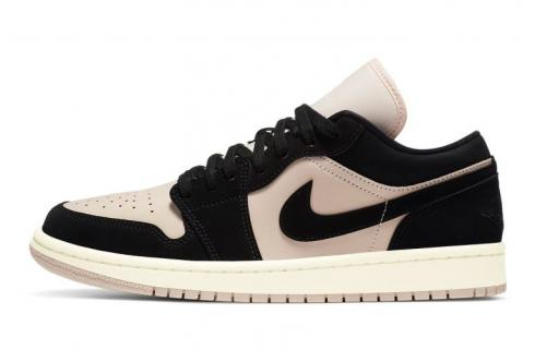 Wmns Air Jordan 1 Low Black Guava Ice Basketball Shoes DC0774-003