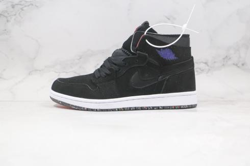 Nike Air Jordan 1 Zoom CMFT Black Chile Red Purple CT0978-060