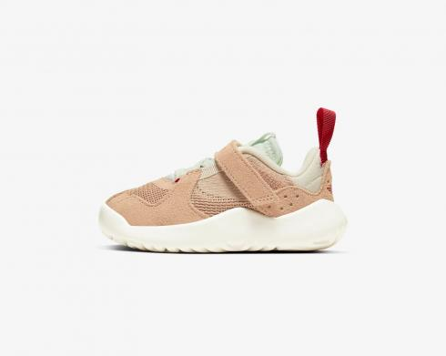 Air Jordan Delta SP TD Vachetta Tan Light Cream Gym Red CT1567-200