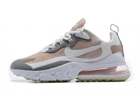 Nike Air Max 270 React Summit White Cream Bone Grey Running Shoes CJ0619-165