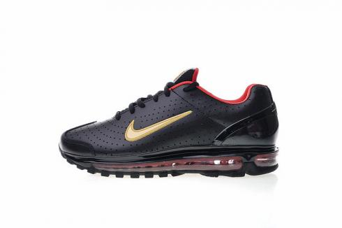 Mens Womens Shoes Nike Air Max 1 Leather OG Black 309726-007