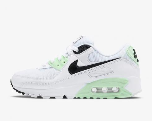 Wmns Nike Air Max 90 Lucky Green White Black CT1039-101