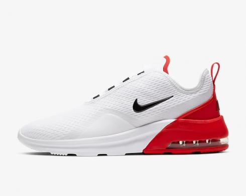 Nike Air Max Motion 2 White University Red Photon Dust Black A00266-105