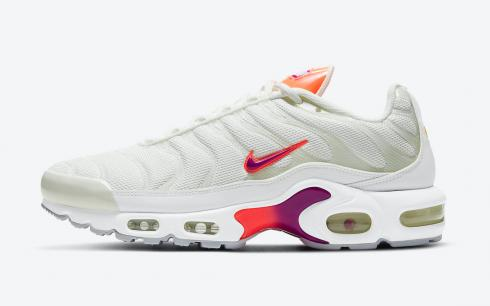 Nike Air Max Plus Summit White Purple Bright Mango Red Plum DH3858-100