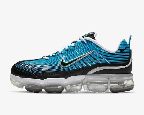 Nike Air VaporMax 360 Laser Blue White Light Solar Flare Heather Black CQ4535-400