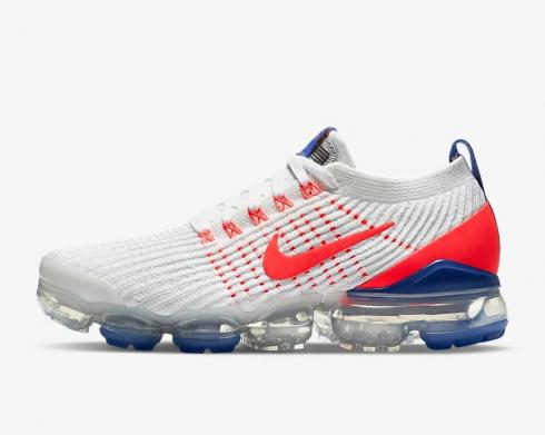 Nike Wmns Air VaporMax Flyknit 3 USA White Astronomy Blue CZ7994-100
