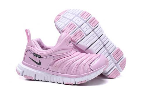 Nike Dynamo Free SE Y2K Infant Toddler Shoes Gold Pink White 343738-628