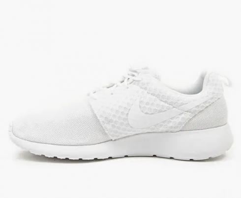 Nike Roshe Run Pure Platinum White Mens Running Shoes 511881-111