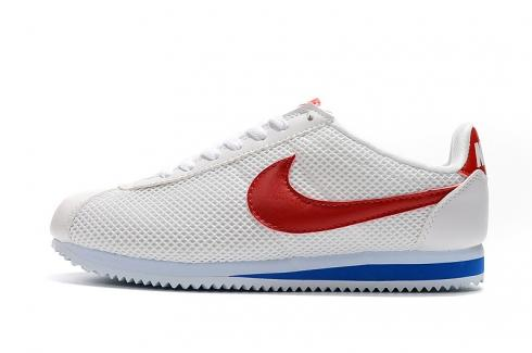 Nike Classic Cortez Leather Sail White Red Blue 905614-161